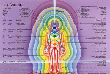 chakras et corps
